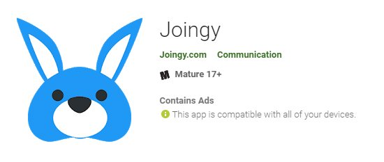Joingy App